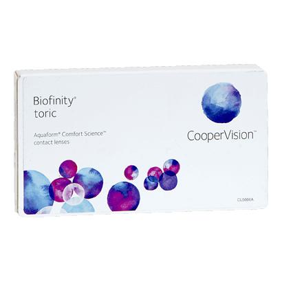 Biofinity toric ojo izquierdo