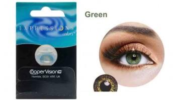 Lente cosmética Verde